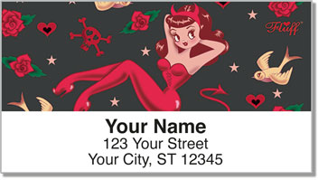 Devilette Address Labels