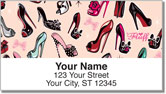 Pinup Shoes Address Labels