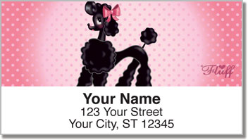 Pixie Poodle Address Labels