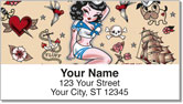 Suzy Sailor Address Labels