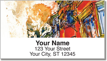 California Address Labels