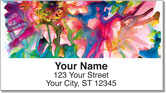 Watts Flower Address Labels