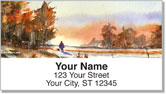 Fall Landscape Address Labels