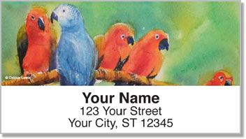 Animal Set Address Labels