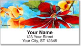 Debbie Lewis Flower Set Address Labels