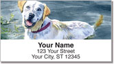 Dog Artwork Address Labels
