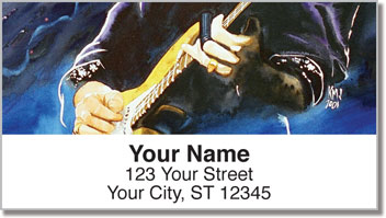Guitar Art 1 Address Labels