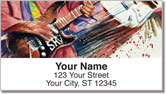 Guitar Art 2 Address Labels