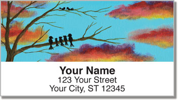 Feathered Friend Address Labels