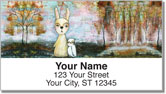 Whimsical Critter Address Labels