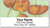 Sandrine Pelissier Flower Set Address Labels