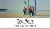 Watercolor Seascape Address Labels