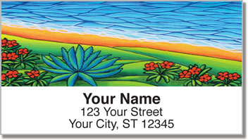 At the Beach 1 Address Labels