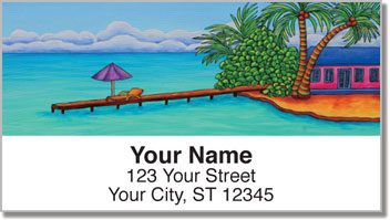 At the Beach 2 Address Labels