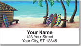 Surf's Up Address Labels