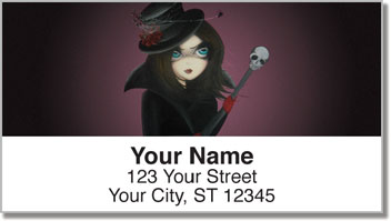 Gothic Address Labels