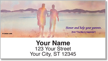 The Way to Happiness 1 Address Labels