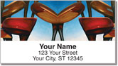 Golf Set Address Labels