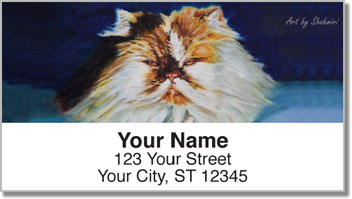 Shahmiri Cats Address Labels