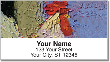 Standlee Rooster Address Labels