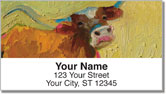 Standlee Farm Animal Address Labels