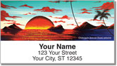 Tropical Surrealism Address Labels
