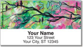Birds of Whimsy Address Labels