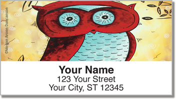 Peekaboo Address Labels