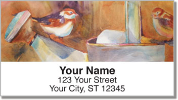 Kay Smith Bird Address Labels