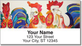 Kay Smith Chicken Address Labels