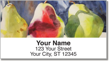 Pear Address Labels