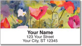 Kay Smith Poppy Address Labels