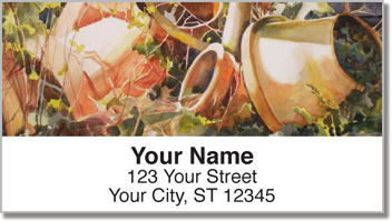 Pots and Pets Address Labels