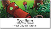 Robot Daydream Address Labels