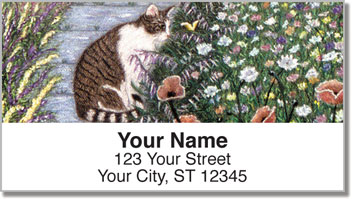 World of Cats 1 Address Labels
