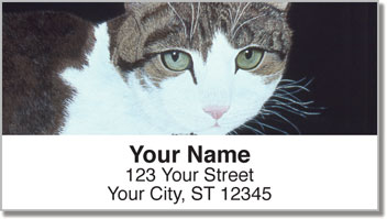 World of Cats 2 Address Labels