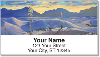 Deserts and Dunes Address Labels