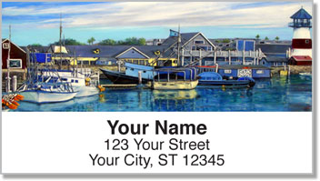 Harbors and Piers Address Labels