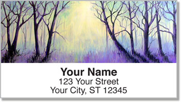 Misty Tree Address Labels