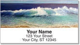 Crashing Wave Address Labels