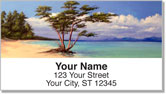 Tropical Shore Address Labels