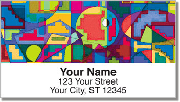 Bulone Abstract Address Labels