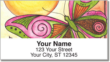 Whimsical Wings Address Labels