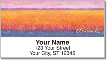 Colored Fields Address Labels