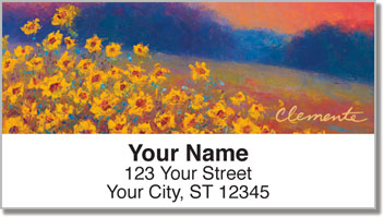 Evening Glow Address Labels