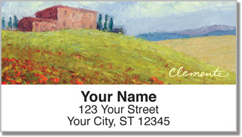 Tuscan Hills Address Labels