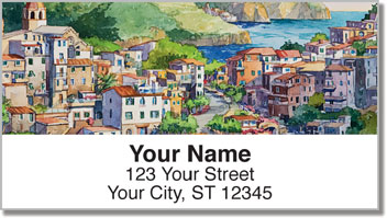 Romantico Villaggio Address Labels