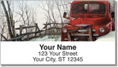 Abandoned Vehicle Address Labels