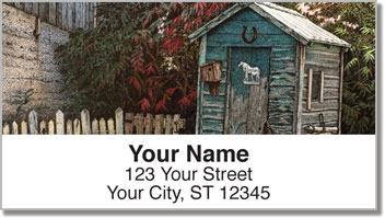 Outhouse Address Labels