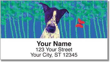Love Me Love My Dog Address Labels